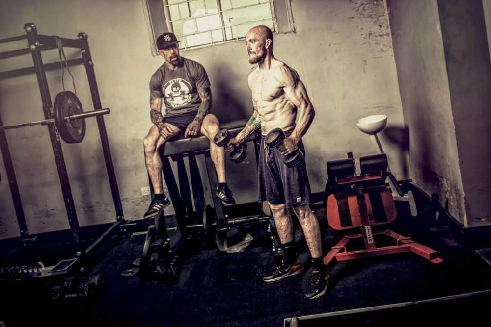 Steve Willimas Training A Gym Member